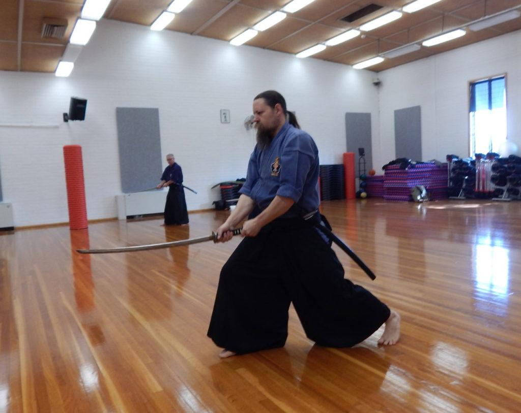Hokushin Shinoh Ryu Iaido